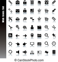 íconos Web listos