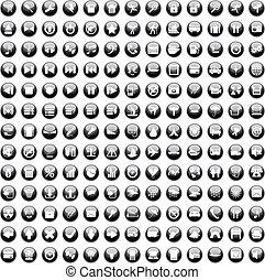 170 iconos fijados en 170 iconos