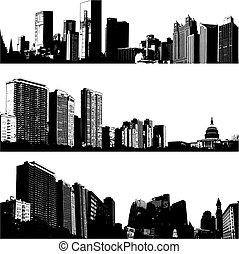 3 vectores de la ciudad