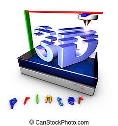 3D impresora