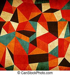 Abstracción de fondo colorido