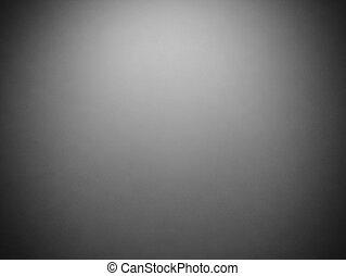 Abstracto fondo gris grunge oscuro con un marco negro en la frontera y centro de atención