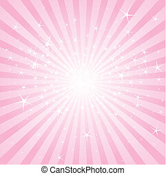 Abstrae estrellas rosas y rayas