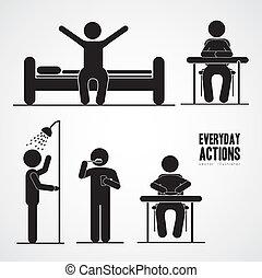 actividades, diario