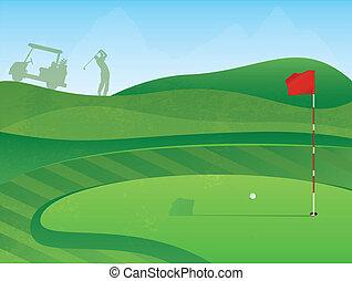 Agujero del golf
