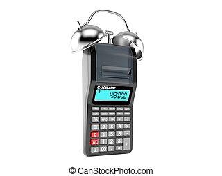alarma, calculadora, reloj