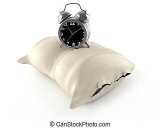Almohada con despertador