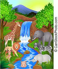 Animal en la naturaleza