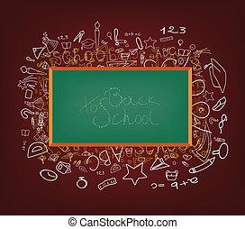 Antecedentes con iconos educativos