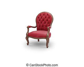 antigüedad, real, muebles