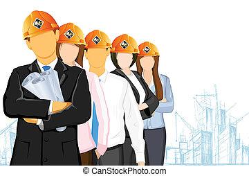 arquitecto, equipo