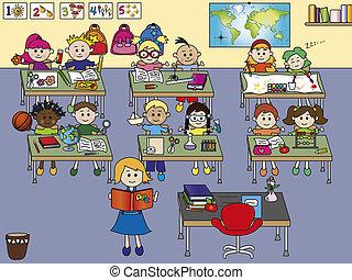 Aula de la escuela