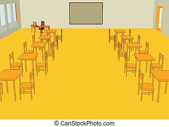 aula, interior
