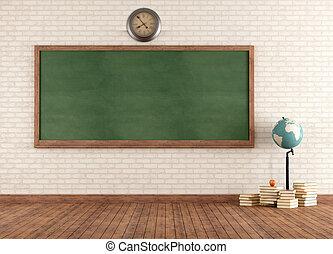 aula, vendimia, vacío