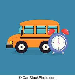 Autobús con despertador