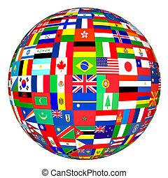 Banderas mundiales