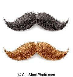 bigotes, falsificación