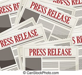 boletines, liberaciones, prensa