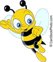 Bonita abeja