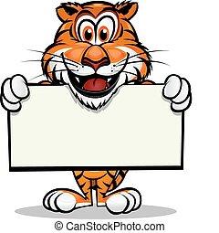 Bonita mascota tigre