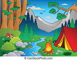 Bosque Cartoon 4