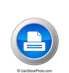 Botón de impresora