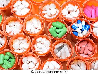Botellas medicinales recetadas