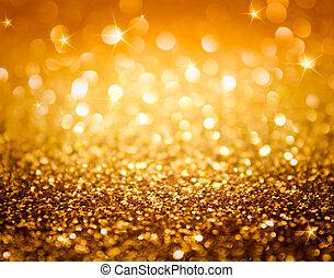 Brillante y estrellas doradas