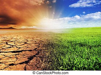 Cambio de ambiente