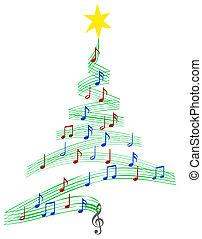 Carol árbol de Navidad