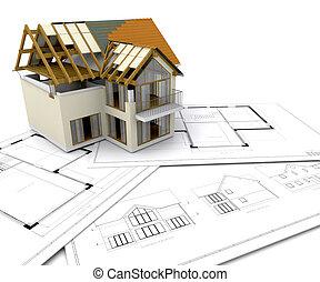 Casa en construcción