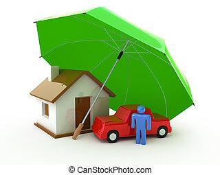 Casa, vida, seguro de autos