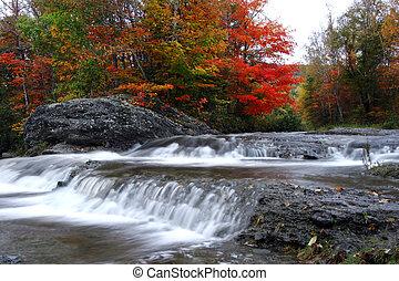 Cascadas de otoño