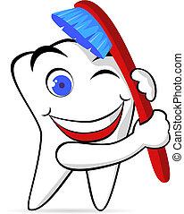 cepillo, diente
