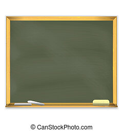 Chalckboard de la escuela