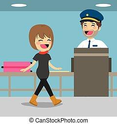 cheque, seguridad, control