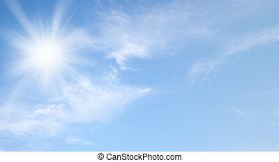 Cielo y sol