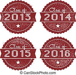 Clase de 2013, 2014, 2015 y 2016