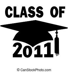 Clase de la graduación de la secundaria 2011