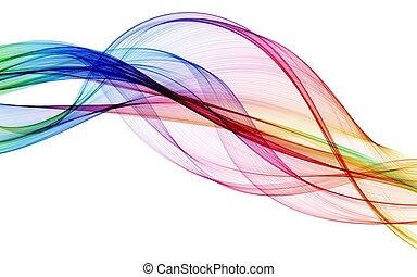 Color composición abstracta