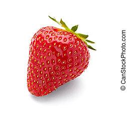Comida de frutas de fresa