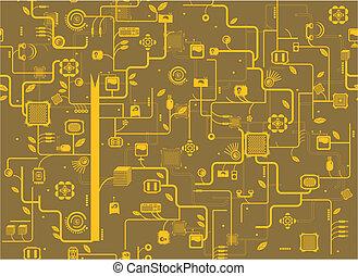 componente, electrónico
