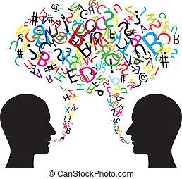 comunicación, símbolo