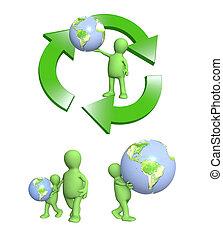 concept., cuidado, eco, ecología