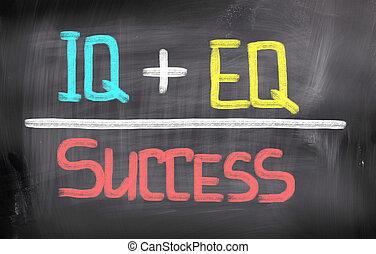 Concepto de éxito