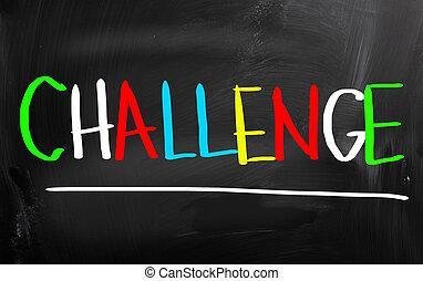 Concepto de desafío