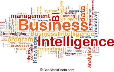 Concepto de inteligencia de negocios