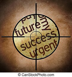 Concepto objetivo de éxito