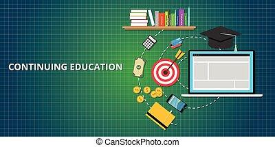 Continuando el proceso de educación