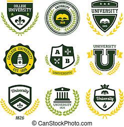 Crestas universitarias y universitarias